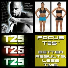 Each series of DVDs is a five-week session that gradually gets tougher.
