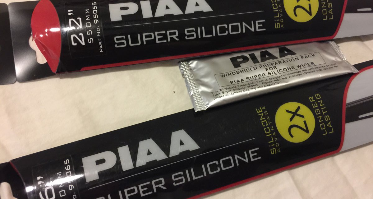 Silicone Wiper Blade Test