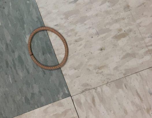 Even on a hospital floor