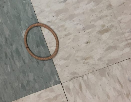 Even on a hospital floor