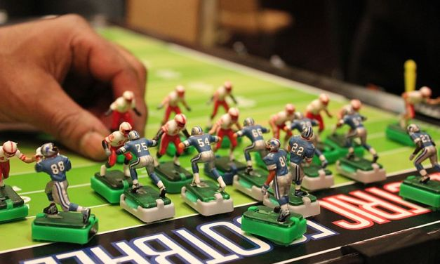 Electric Football is Still a Thing!