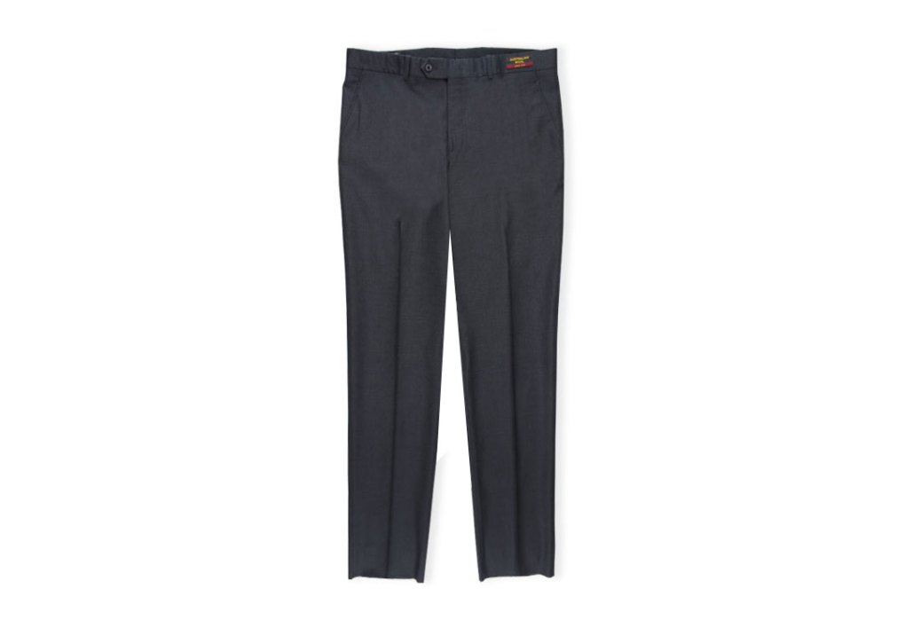 Gala Slacks Charcoal Grey Dress Pant For Men