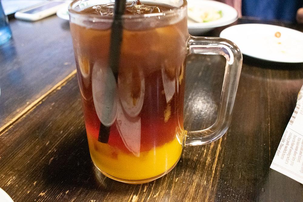 特製芒果奶蓋紅茶