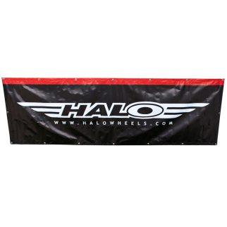 Banner Halo 3x1, PVC 340g/m2 PVC con occhielli metallici