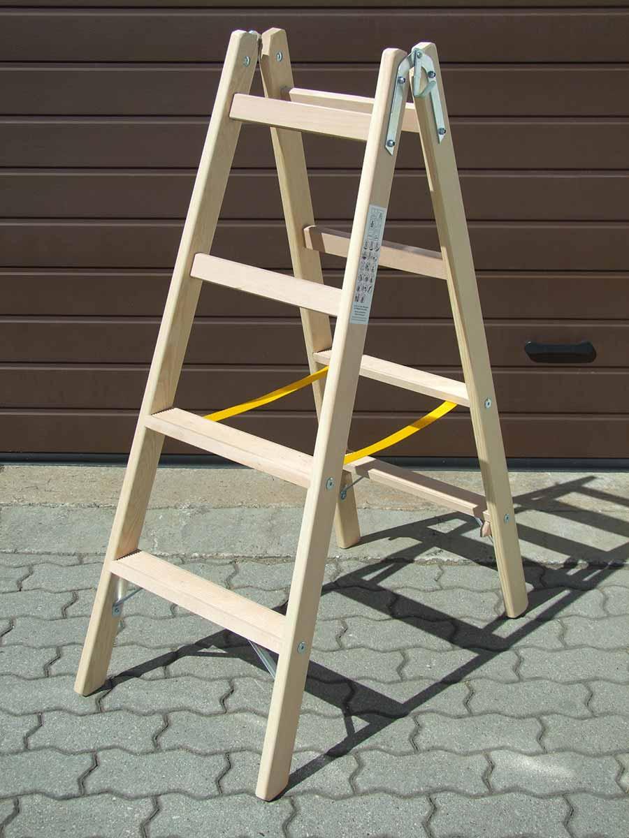 Alte Stabile Leiter Aus Holz Holzleiter Setztreppe Alte