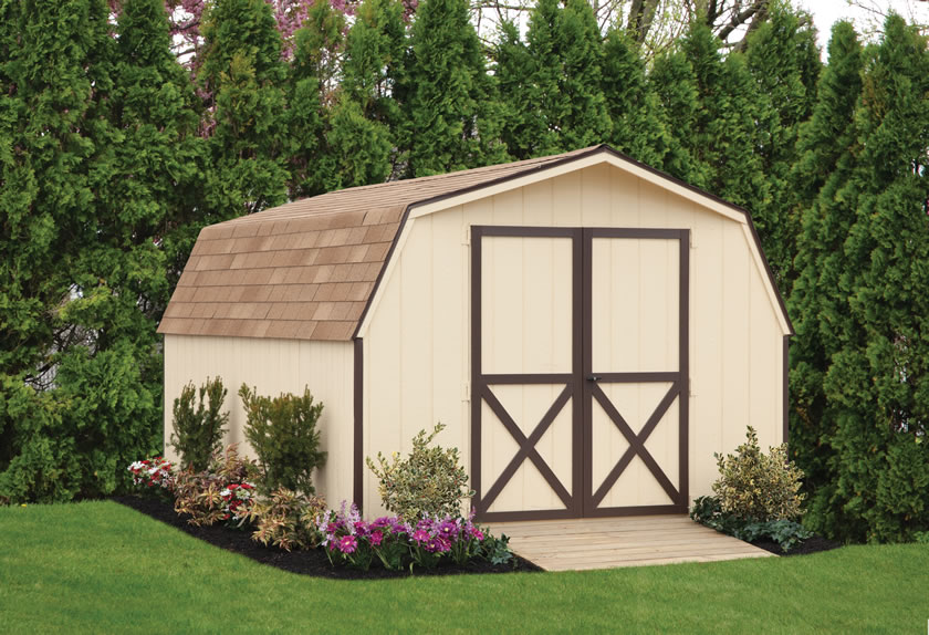 Economy Storage Sheds Perfect For A Budget
