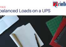 YouTube Thumbnail for Riello UPS Tech Talk video on how a UPS can handle unbalanced loads