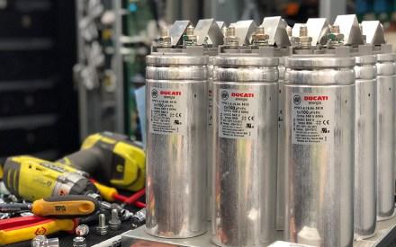 UPS capacitors during preventive maintenance visit