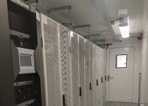 Riello UPS Multi Power uninterruptible power supply in a containerised data centre
