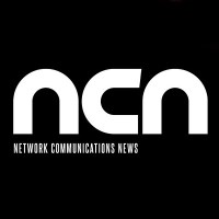 Network Communications News magazine logo white text black background