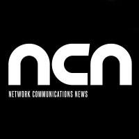 Network Communications News magazine logo white text black background