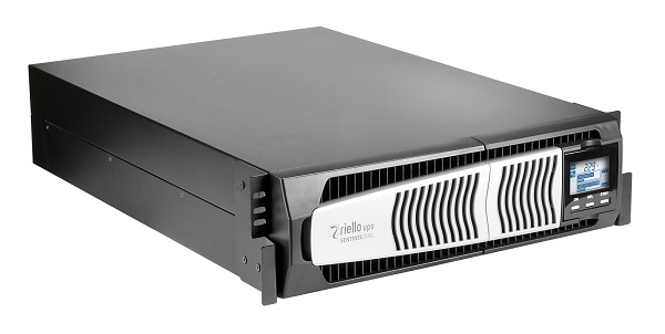 Rack-mount version of Riello UPS Sentinel Dual (SDU) UPS system