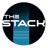 Logo for The Stack.com data centre website