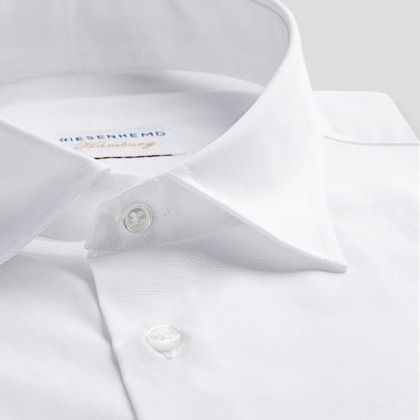 Tolles Herren Hemd für grosse Männer mit extra langem Arm 72 cm und Überlänge von RIESENHEMD