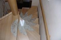 Treppen mit Graniteinlagen 14