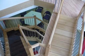 Treppen mit Graniteinlagen 10