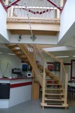 Treppen mit Graniteinlagen 09