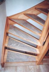 Treppen mit Graniteinlagen 01