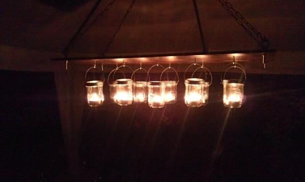 Inspiring Outdoor Gazebo Chandelier Lighting Destroybmx
