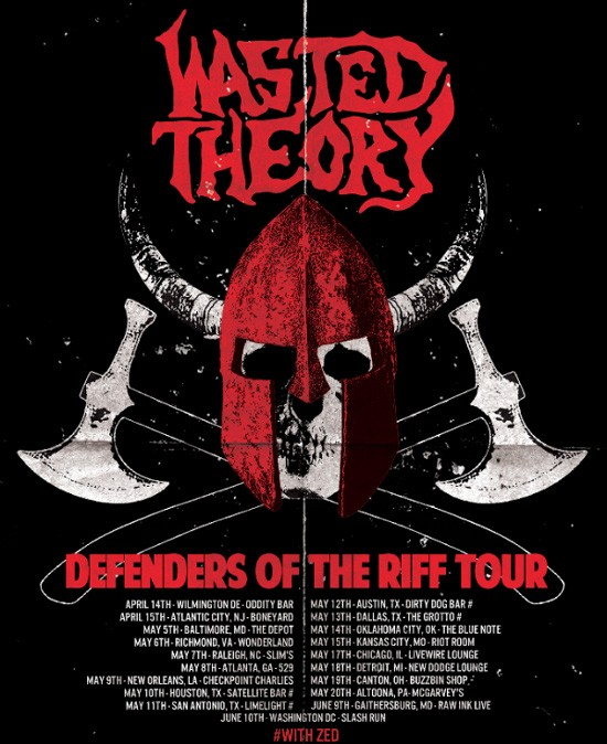 Wasted Theory Tour Poster