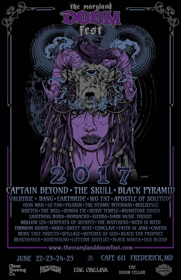 The Maryland Doom Fest 2017
