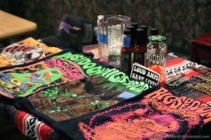 Rigs of Doom table of wattage - Photo by Leanne Ridgeway