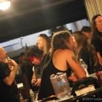 Many Bands, Much Merch - Photo by Leanne Ridgeway