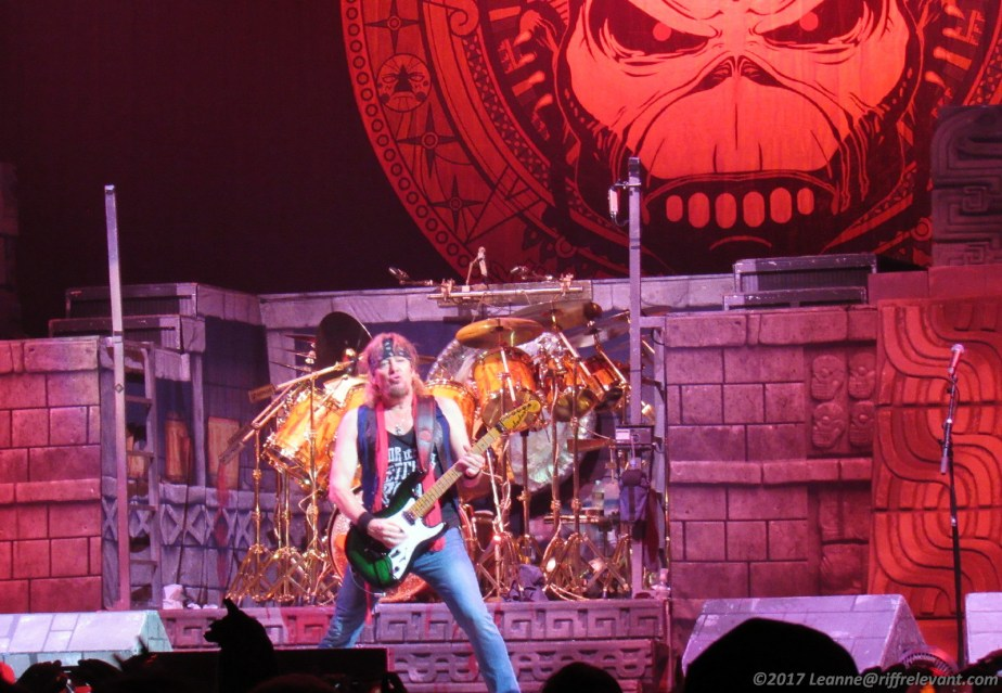 Iron Maiden - 7/21/17 Brooklyn NY, Photo By Leanne Ridgeway