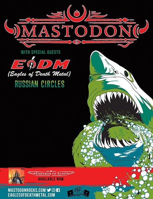 Mastodon Tour