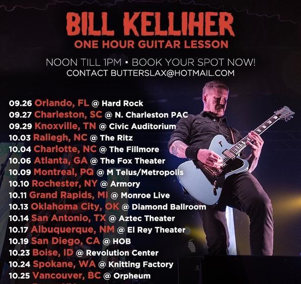 Mastodon Bill K guitar lessons