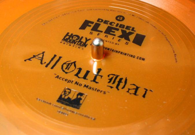 All Out War Decibel Flexi-Series