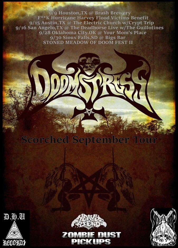 Doomstress Tour 2017 Poster