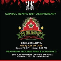 THE MARYLAND DOOM FESTIVAL 2018 - Sponsors Feature: Capitol Hemp