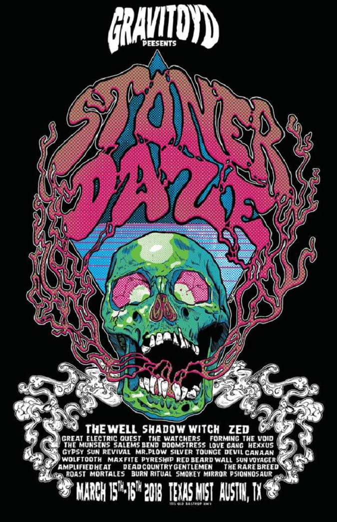 STONER DAZE – Stoner & Doom Festival 2018 (March 15 & 16