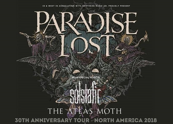 PARADISE LOST, THE ATLAS MOTH, SOLSTAFIR Show Review & Concert Photos [Guest Contributor Hillarie Jason]