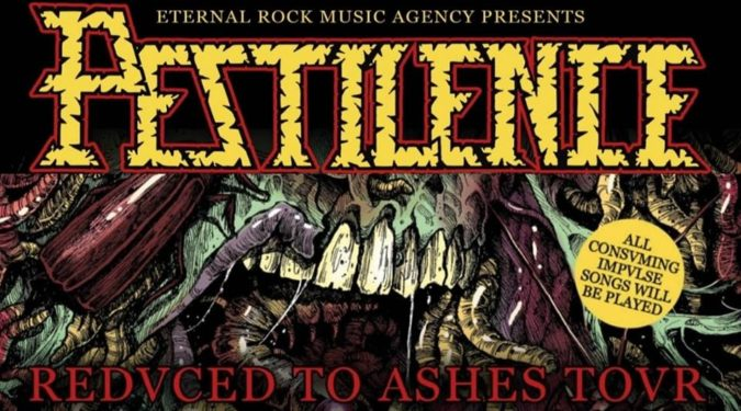 PESTILENCE 'Evrope Redvced To Ashes Tour 2019' Marks 30th Anniv. Of 'Consuming Impulse'; LP Box Set