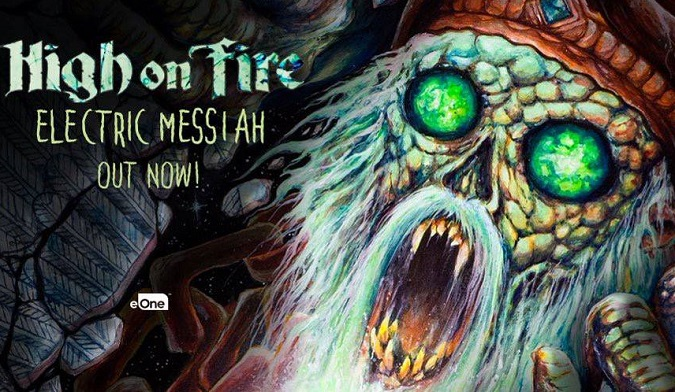 HIGH ON FIRE Confirm 2019 N. American Tour + Psycho Las Vegas