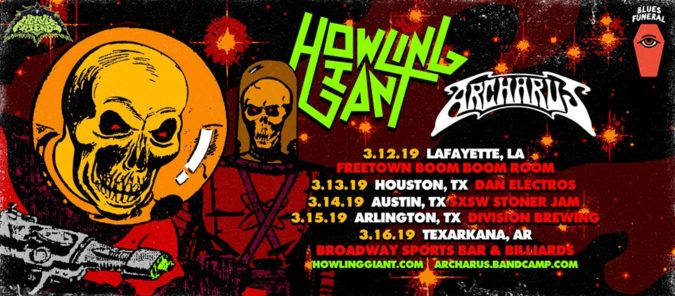 Howling Giant Archarus Tour