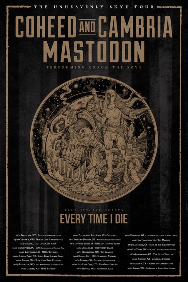 Mastodon Crack The Skye Tour