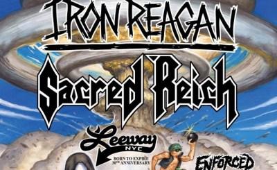 Iron Reagan Sacred Reich Tour