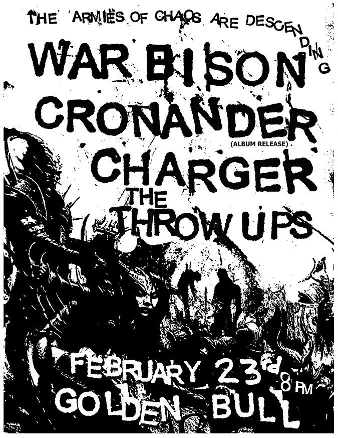 Cronader live 2-23-19