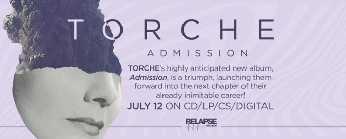 "TORCHE 'Admission' Album Due July; New ""Slide"" [Video]; N. American Tour & Fests"