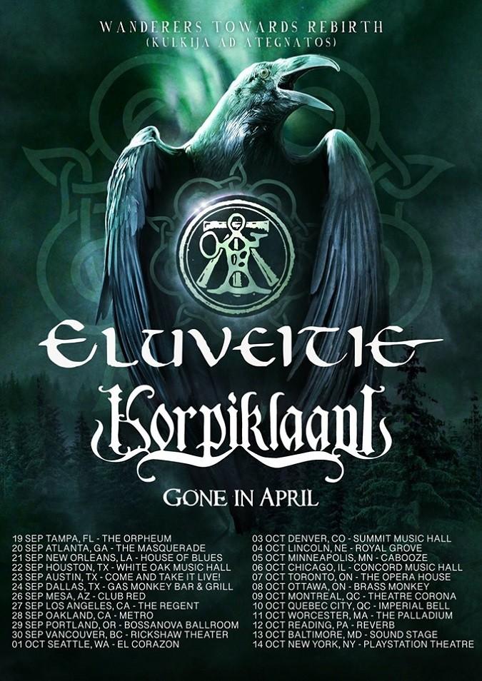 Eluveitie tour 2019