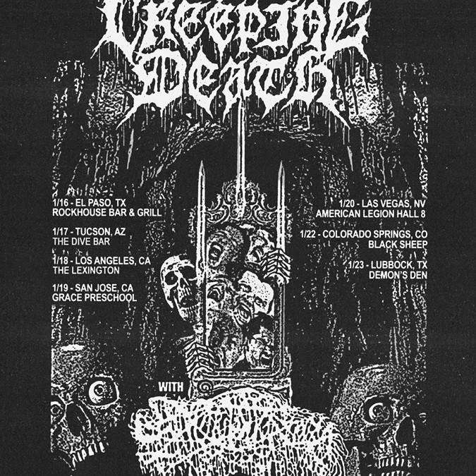 Sanguisugabogg Creeping Death tour