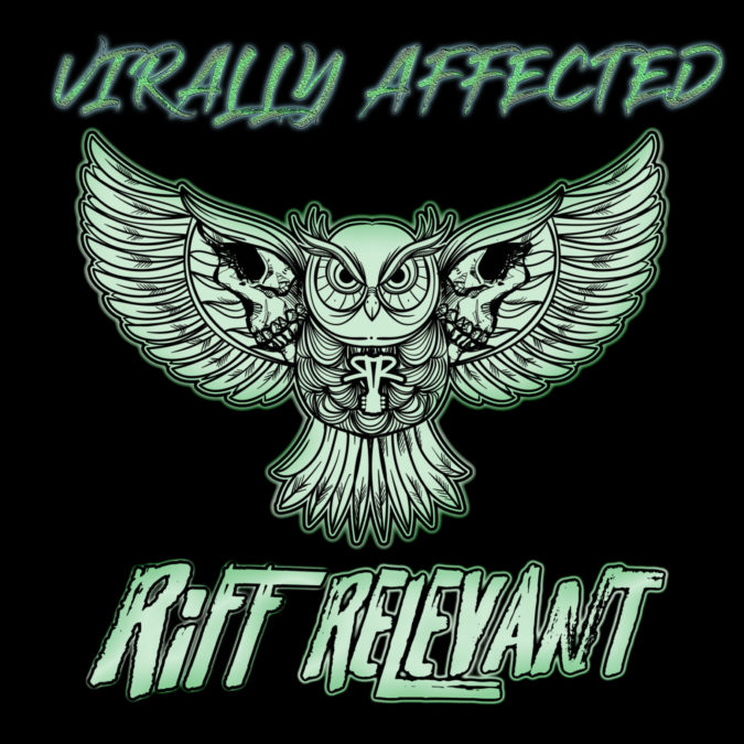 Riff Relevant Hearkened Heap Virally Affected Logo Image