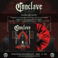 "CONCLAVE Shares 'Dawn Of Days' Album Details & First Single ""Haggard"""