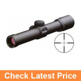 Burris Scout 2.75 x 20mm Heavy Plex Reticle Matte Black Riflescope