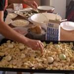 """""""tiella"""" di patate e cipolle al forno- foto di A. de Tullio"""