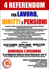 referendum lavoro pensioni