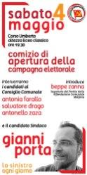 apertura campagna elettorale